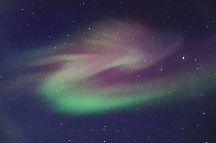 Northen Lights Iceland Beauty Of Nature Nature