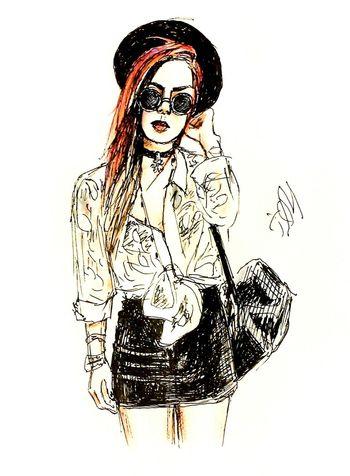 Illustration Quicksketch MyArt Drawing