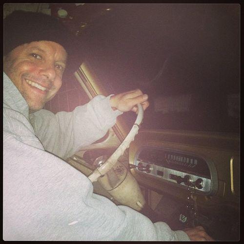 Rollin in my Corvair Greenbriar Van so fun to drive !!!