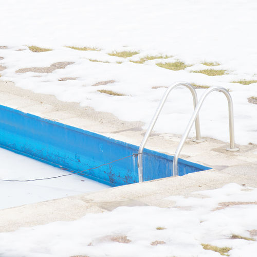 Beauty In Nature Cold Temperature Day Freedom Freshness Friss I Ice Nature No People Outdoors Pool Sky Snow Snow ❄ Swiming Swimming Pool Winter Winter Wintertime