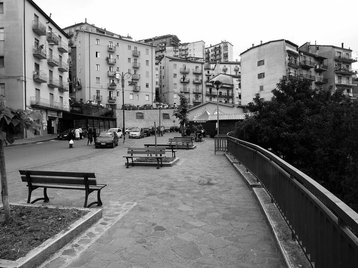 Residential buildings Black & White Italia Public Park South Italy Architecture Benches Black And White Black And White Photography Building Exterior Buildings Buildings Architecture Built Structure Calabria City Guard Rail Outdoors Parc Residential Building Tree Urban Landscape Urban Skyline Verbicaro