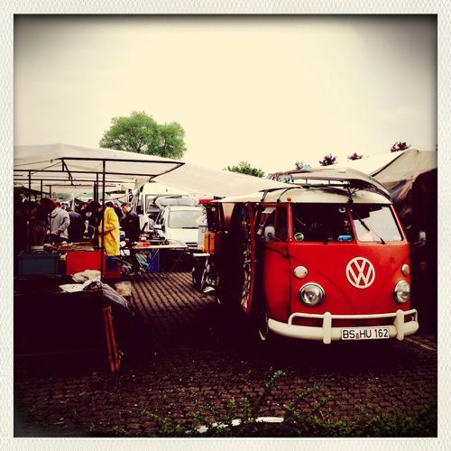 VW Bus Market Volkswagen Iphonegraphy