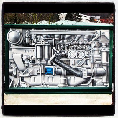 Skl_art Sklfirma Machine Art Streetart