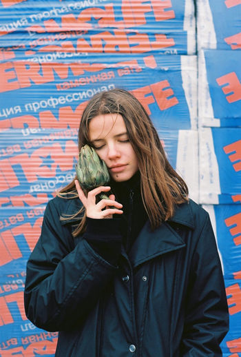 35mm Film Analogue Photography Dreaming Film Ishootfilm Portrait Of A Woman Analog Artichoke Beautiful Woman Casual Clothing Daydreaming Dreamy Film Photography Filmisnotdead Front View Girl Jacket Lifestyles One Person Outdoors People Standing Young Adult Young Woman Young Women