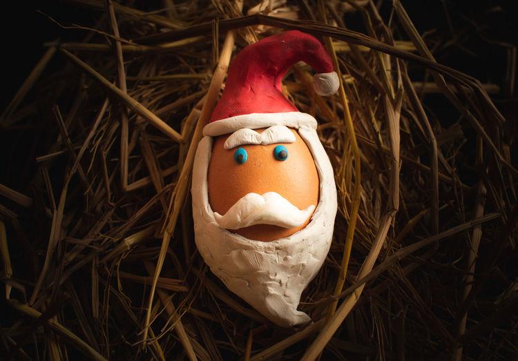 Santa claus clay,handmade
