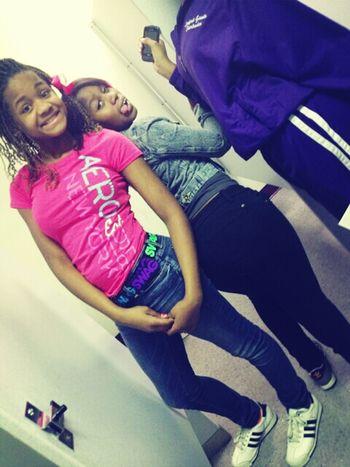 me & my lil Sis