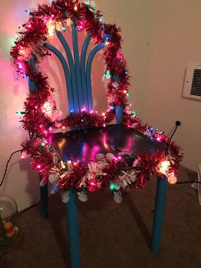 Merry Christmas Chair No People Indoors  Illuminated Celebration Christmas Christmas Decoration Christmas Tree Night Be. Ready.
