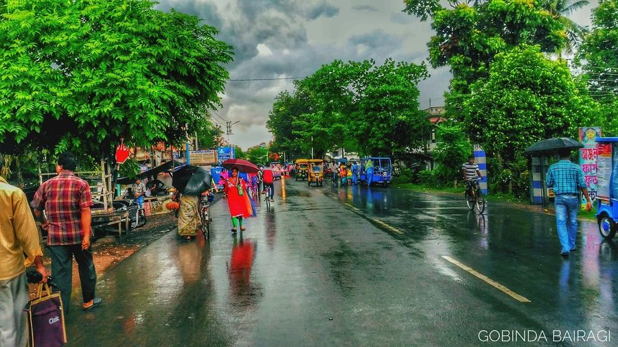 Monsoon hits Bongaon Rain Water Wet Rainy Season Large Group Of People Tree Flood Outdoors Sky Summer People Extreme Weather Lifestyles Day Crowd Nature City Rainy Days Rainy Days☔ Rain Clouds Bongaon Gobinda Gobinda Bairagi Gobinda The Freelancer Cloud - Sky