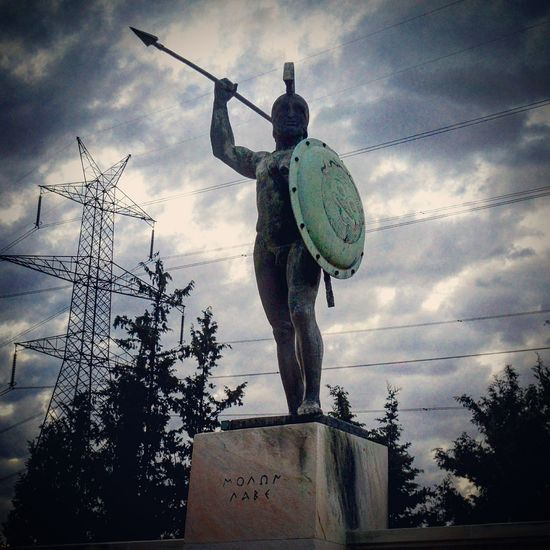 ΜΟΛΩΝ ΛΑΒΕ 300SPARTANS Monuments & Statues Leonidas Thermopules EyeEm Best Shots Thisissparta
