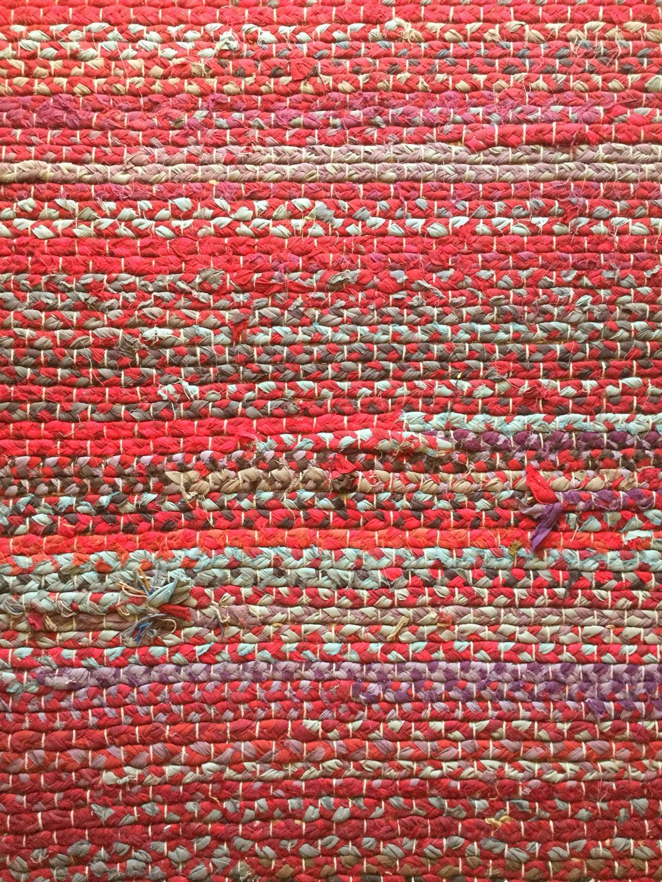backgrounds, full frame, red, textile, pattern, textured, no people, close-up, indoors, wool, day