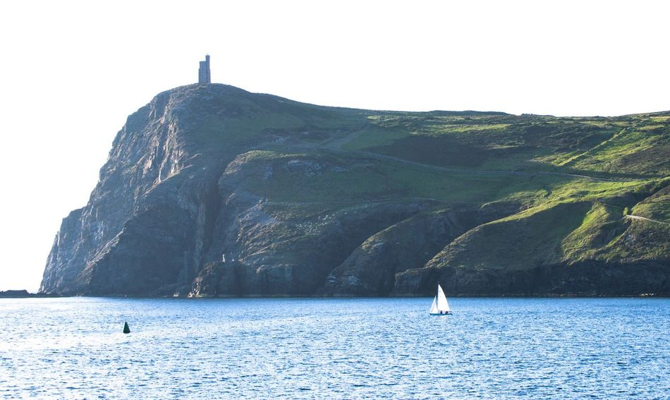 The Essence Of Summer The Great Outdoors - 2016 EyeEm Awards Sea Sailboat Cliff Light And Shadow Hill Tower Tranquility Blue Green Late Night Simplicity Port Erin Isle Of Man Showcase June Fine Art Photography On The Way My Favorite Place Flying High