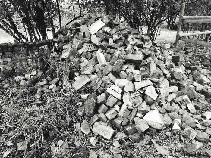 Brick Rubble Rubble Wall Rubble Brick Rubble In Nature