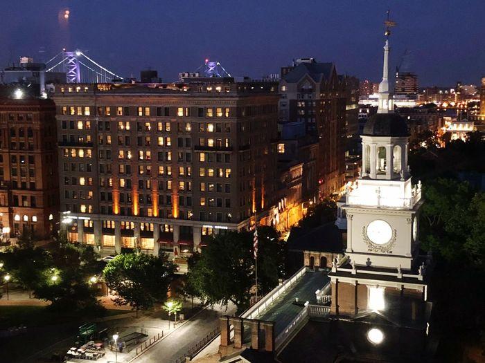 Phillylove ❤️ Philly Philadelphia Illuminated City