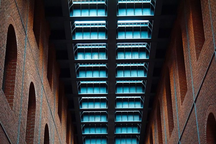 Pattern Built Structure Architecture Low Angle View No People Indoors  Building Exterior Day