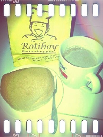 hmmm.. Delicious Fresh Bread joint with a Cup Of Coffee Come Join Me