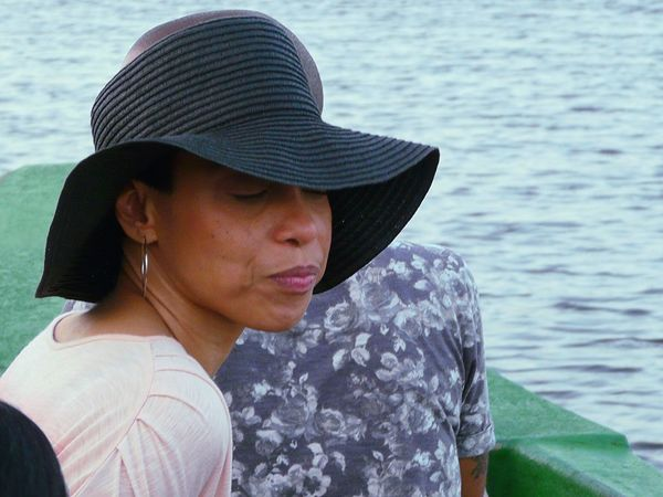 Tired face Boat Ride Caroni Swamp Bird Sanctuary Trinidad And Tobago Feel The Journey