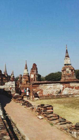 Old Temple Ayutthaya