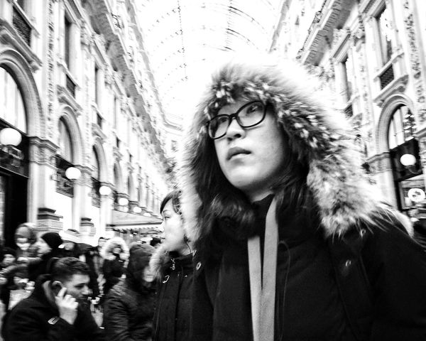 Eskimo. Winter Showcase March NEM Black&white NEM Street