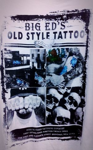 Big Ed's Old School Tattoo Tattoo Parlor Posters Tattoo Shop Tattoo Parlour Tattoos Tatts Tattooshop Tattoo Tatt Tattoo ❤ Tattoo Art Poster Tattooing Tattooart Tattoo Artist Tattooartist  Indelibleink Indelible Inked Up Old Style Old Style Tattoos Tatted Up Tattoo Studio