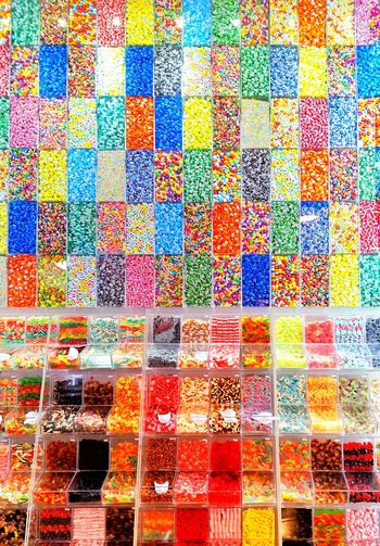 The Candy Wall Multi Colored Colorful Full Frame No People Large Group Of Objects Contrasting Colors Eyeam_bestshot Like4like Effects & Filters Eyephotography Follow Me :) Candyshop Candys