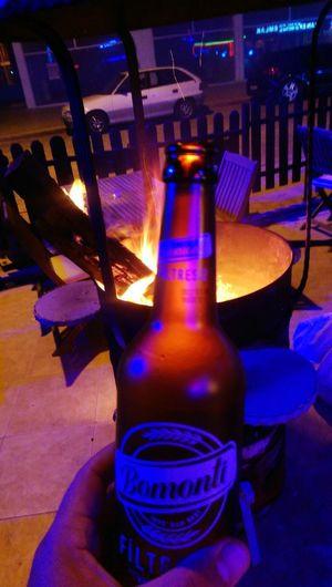 Bomonti Bomontifiltresiz Cuzar Beer Fire Bar Bira Drink Alcohol Night Relaxing Hello World Nightlife Beer - Alcohol Relax Bar - Drink Establishment Great Atmosphere Eagensea Turkey Bira Keyfi