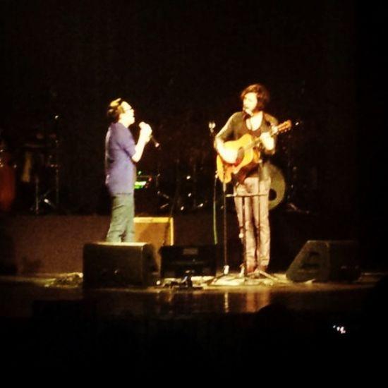 Gadu e Iorc cantando Tempo Perdido MariaGadu TiagoIorc Sing Enjoying Life