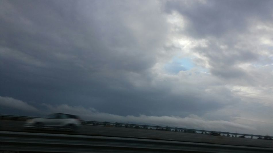 My Daily Commute Clouds And Sky Calisky Big Clouds Norcal