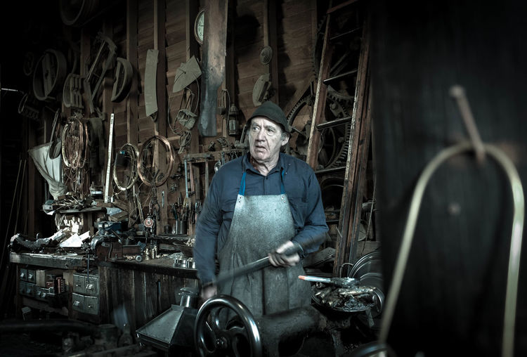 Man of steel Australia Ballarat  Man People Portrait Steel Work Workmanship New Talent People And Places