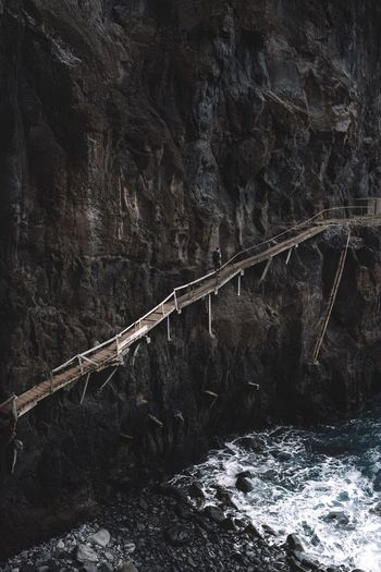Nature Outdoors Day No People Water Beauty In Nature Sky Madeira Madeira Island Wooden Bridge Seaside Be. Ready.