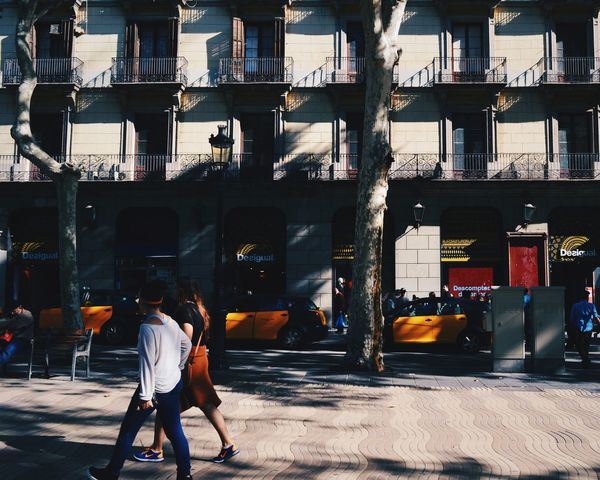 Orange & Black Urban Urbanphotography Couple Streetphotography Buildings Focus On Foreground Traveling Perfect Match Colors Rythm My Best Photo 2015 Eyeem UK Team Pattern Pieces