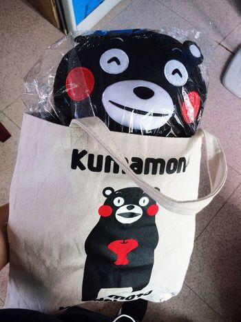 KUMAMON Dolls Check This Out Kuma Guangzhou UFO-Unseen Foodie Organization