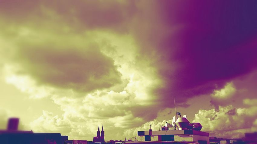 Cologne Colognecathedral Cloudy