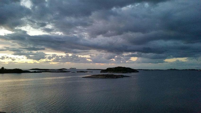 Swedish Archipelago Summertime Sea Seascape Sweden Clouds And Sky Weatherchange