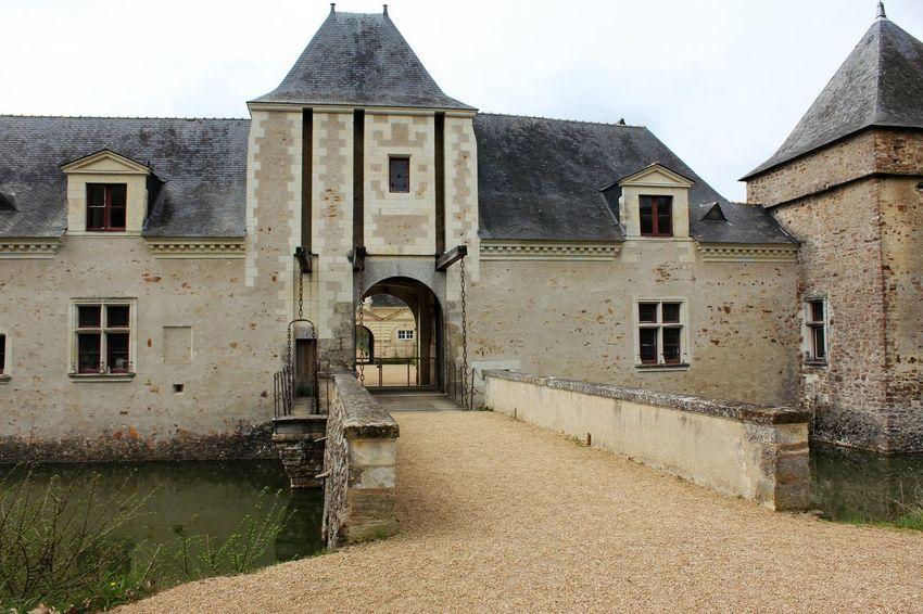 Château du Plessis-Bourré Château Du Plessis-Bourré French Castle Historical Monument Loire Valley Architecture Building Exterior Château Day Monument Historique No People Outdoors Sky