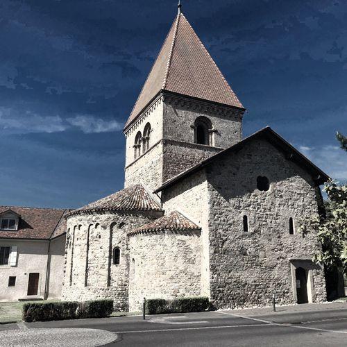 Eglise Saint-Sulpice Architecture Built Structure Building Exterior Building Sky Religion Place Of Worship