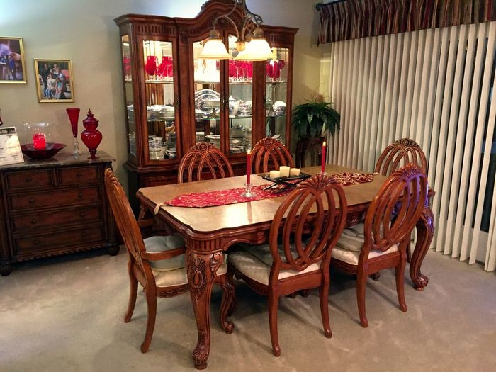 Dining Room Absence Chair Chair China Cabinet Day Domestic Room Empty Flooring Furniture No People Seat Sofa Table