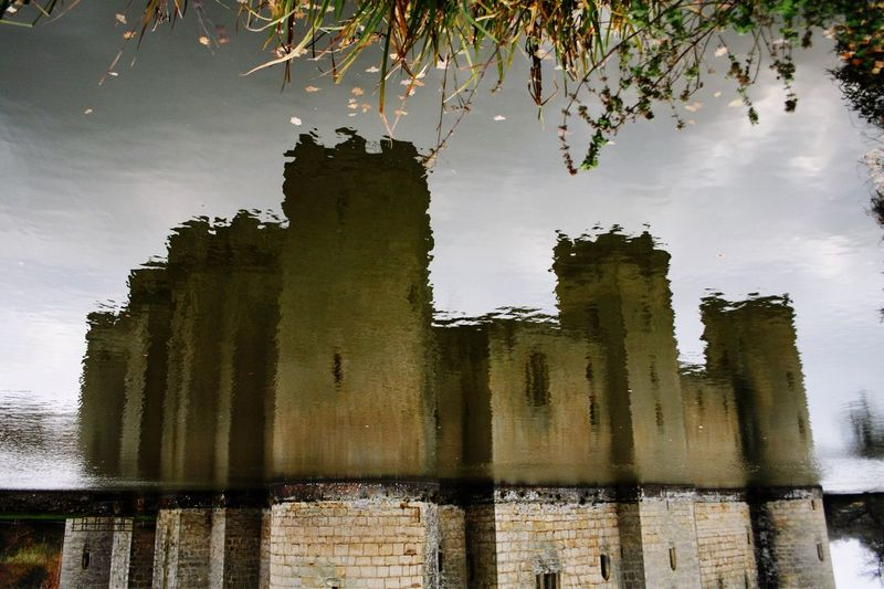 Reflection Castle Moat Bodiam Castle