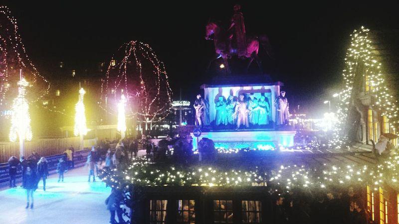Best Christmas Lights Köln Germany Weihnachtsmarkt Heumarkt