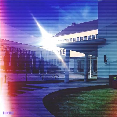 Colors Abstract Modern Popat Nofuture Architecture Vision Visual Mycity Lumia535 Instacool Instago Instagood Grimm Beautiful Gloomy Sky Koszalin Blue Bluesky Sun