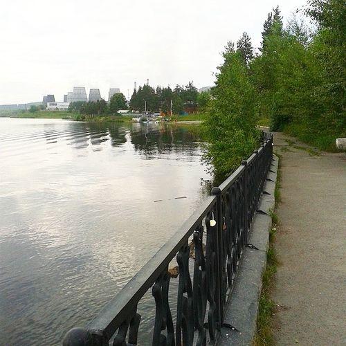 прогулка Набережная Краснотурьинска водазавод