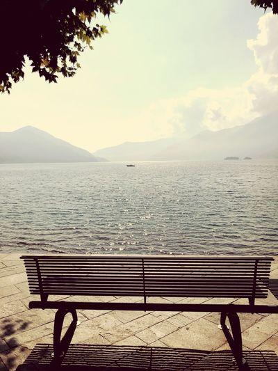 Lake Sky Bench