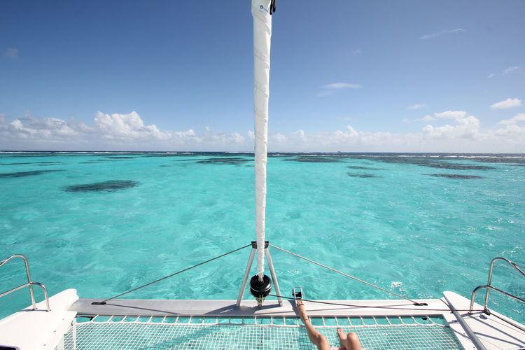The magnificent caribbean sea.