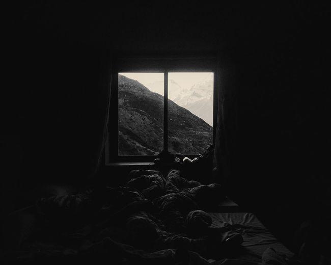 Window in sunlight