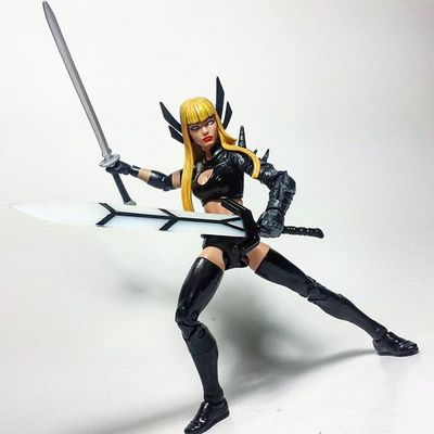 Magik Xmen Mutant Marvel Marvellegends Marvelcomics Toys Toyphotography Toypizza Toysarehellasick Toycollector Toycommunity Toycollection Thefigureverse Ata_dreadnoughts ATA_MARVEL Toyslagram Toyunion Bookofvishanti