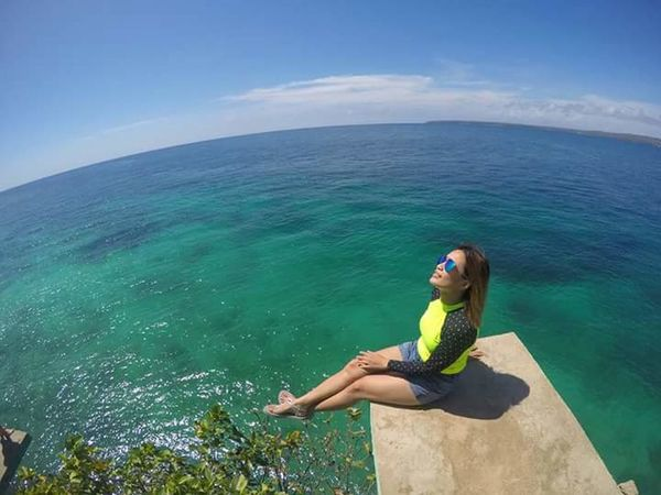 At the edge but feel soo safe here...@ the Majestic Island of Siquijor! IvyEntures2016 Feel The Journey