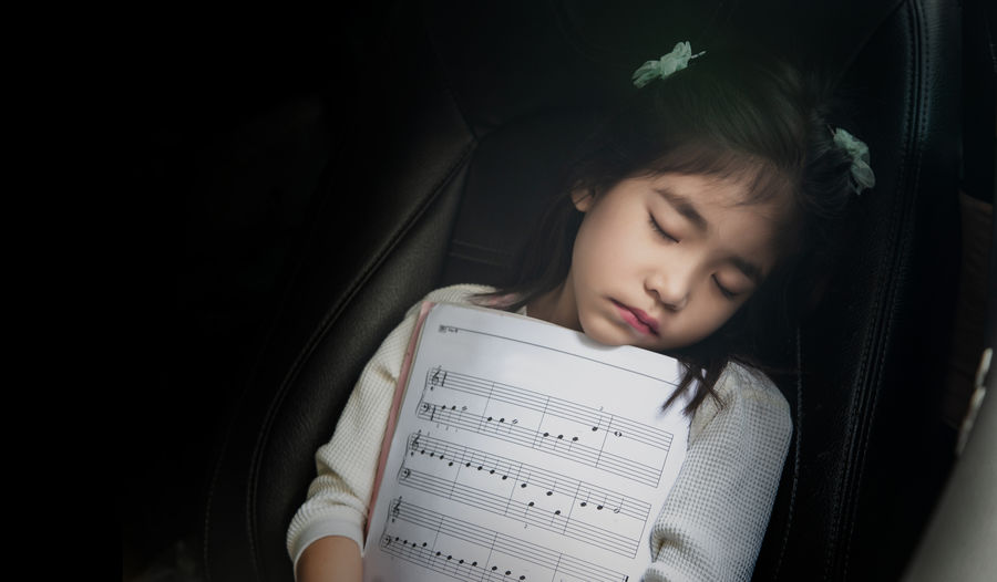 sleep kid with