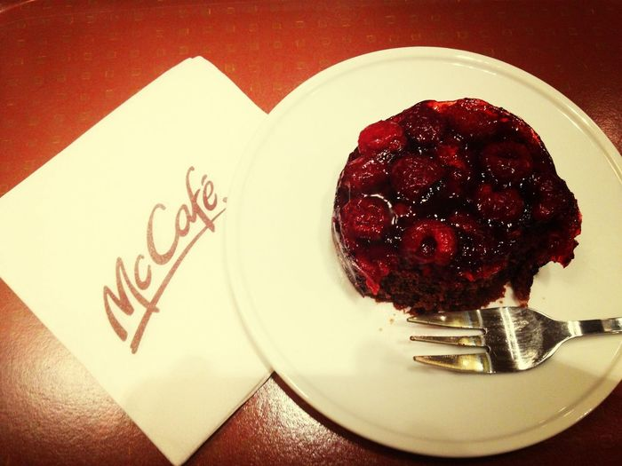 McCafe McDonald's Malinka Mmmmmmm!