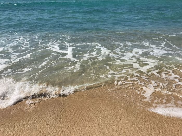 Sand Beach Sea Water Nature Shore Outdoors No People Wave Tranquility Beauty In Nature Scenics
