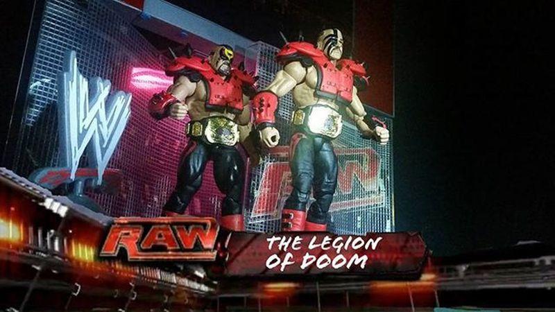 Oh What A Rush! Wwe Wwemattel Mattel Legionofdoom Roadwarriors Hawk Animal Wrestling Wrestlingfigurephotography Toys Toystagram Actionfigurephotography Actionfigures Toyphotography