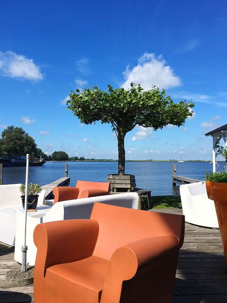Uitgeestermeer Summer Lake Water Sky Chair Nature Plant Table Seat Tree Day Sunlight